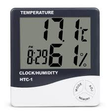 <b>Indoor Room LCD</b> Electronic Temperature Humidity Meter Digital ...