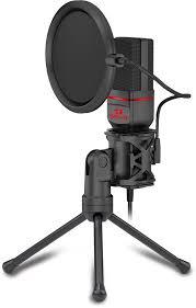 Игровой стрим <b>микрофон Redragon Seyfert</b> GM100 3.5 мм, кабель ...