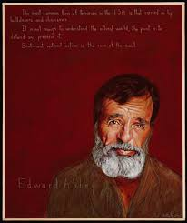 Desert Solitaire Edward Abbey Quotes. QuotesGram via Relatably.com