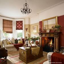 red brown room