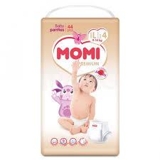 <b>Подгузники</b>-<b>трусики Momi Premium</b> (<b>L</b>) 9-14 кг (44 шт.) - IRMAG.RU