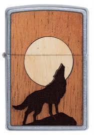 <b>Зажигалка</b> WOODCHUCK USA Howling <b>Wolf ZIPPO</b> 49043 купить ...