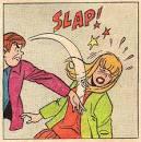 slaps