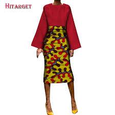 <b>Hitarget 2019 New African</b> Loose Kanga Dresses for Women ...
