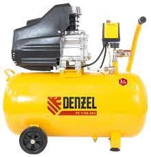 <b>Компрессор масляный Denzel</b> PC 1/50-205, 50 л, 1.5 кВт — купить ...