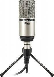 Студийный <b>микрофон IK Multimedia</b> iRig Mic Studio XLR, черный ...