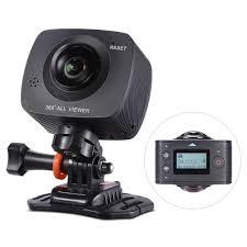 Andoer <b>360 Degree</b> Video Camera <b>4K</b> Ultra <b>HD</b> WiFi Camera ...