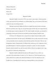 benjamin franklin study resources pages ben doc