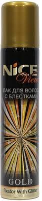 Лак для <b>волос</b> с блестками <b>Nice</b> View - Купить в Интернет ...