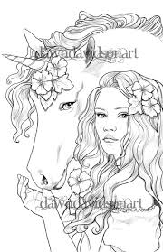 Best Friends grayscale <b>Unicorn</b> Adult Coloring Pages | Etsy