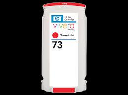 <b>HP 73</b> 130-ml <b>Chromatic</b> Red DesignJet Ink Cartridge (CD951A)