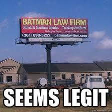 Atty. Batman! | Uber Digests Law Memes via Relatably.com