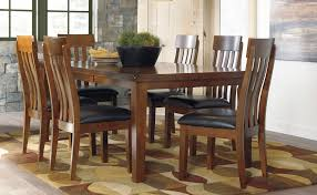 ashley furniture kitchen tables: harlem furniture kimonte rectangular dining table w ivory chairs harlem furniture kimonte rectangular dining table w ivory chairs