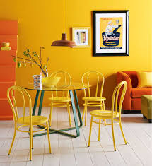 furniture charming cool design ideas with yellow color rattan excerpt colorful dining chairs dining room beautiful funky dining room lights
