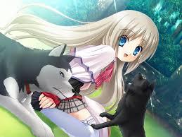 Resultado de imagen de anime animales perros