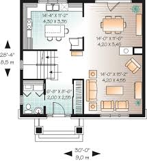 Cost Effective Construction   DR   CAD Available  Canadian    Floor Plan