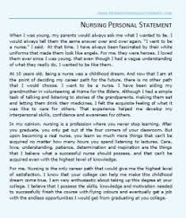 Personal Statement of Interest Statement of Interest letter