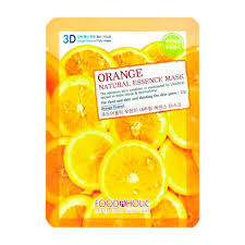 3D <b>Маска</b> для <b>лица</b> FoodaHolic Orange Gram Natural Essence 3D ...