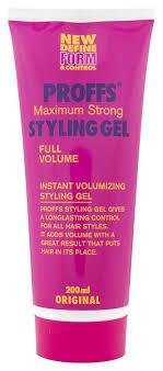 Купить <b>гель</b> для укладки PROFFS <b>Maximum Strong Styling Gel</b> 200 ...