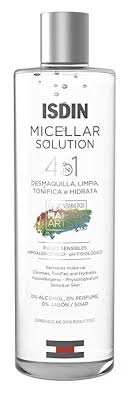 ISDIN Micellar Solution, 4 in 1 Makeup Remover ... - Amazon.com