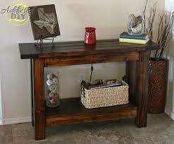 1 pottery barn inspired console table cheap entryway furniture