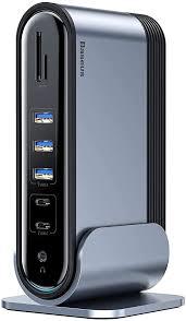 <b>Docking</b> Station, <b>Baseus</b> Dual Display Universal <b>Dock</b>: Amazon.co ...