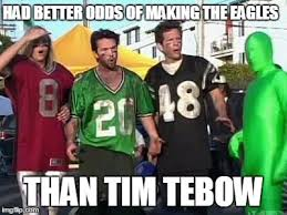 The best Tim Tebow memes in honor of today's touchdown via Relatably.com