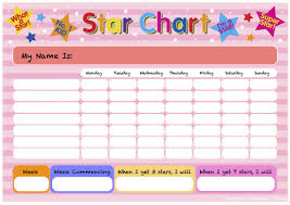 tiny tots cici tv pink star chart template me
