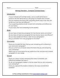 images about writing on pinterest  teaching writing  compare contrast essay writing checklist