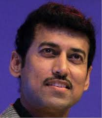 Olympic silver medallist Rajyavardhan Singh Rathore equalled the world record 148 out of 150 in double trap on his way to the gold in the Asian shotgun ... - SPORT-RATHORE_GDJ3Q_849218e
