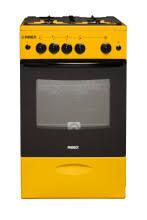 <b>Газовая плита REEX</b> CG-54297 eYe желтый без крышки ...