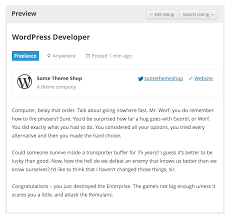 wp job manager wordpress plugins screenshots