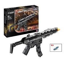 <b>Конструктор</b> Double E <b>Cada deTech</b> *<b>Пулемет</b> MP5* 617 деталей -