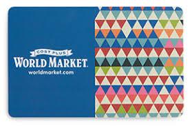 Gift Cards & Online eGift Cards | World Market