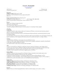 resume for freshman college student sample resume  freshman college student