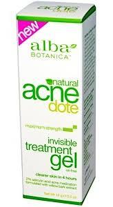 Alba Botanica <b>Acne Dote</b>, <b>Invisible</b> Treatment Gel ingredients ...