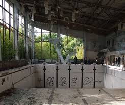 chernobyl exclusion zone adrenaline radiation urbex a good day swimming pool in the abandoned city of pripyat near the chernobyl plant taken on