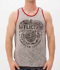 Affliction American Customs Bull Run Tank Top - Men's Tank Tops ...