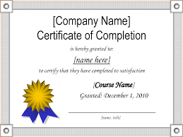 sample certificate of completion teknoswitch sample certificate powerpoint