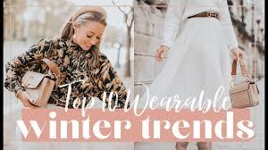 10 WEARABLE WINTER <b>2019</b> TRENDS // <b>Fashion</b> Mumblr - YouTube