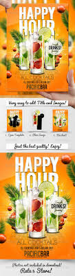 17 best images about graphic design inspiration drink promotion flyer template a5