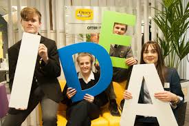teen entrepreneurs to showcase at schools enterprise programme students from cork schools paid a to the otterbox offices in george s quay to receive mentoring from staff members to help their mini companies