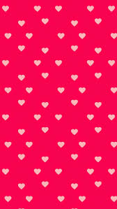 <b>Hearts of love</b> on hot pink background 2015   Hot pink background