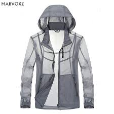 Men Light Jacket Hoodie Skin Coats <b>2018 Summer</b> Hooded Thin ...