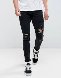 <b>Ripped Jeans</b> for <b>Men</b> | <b>Men's</b> Black & <b>Skinny Ripped Jeans</b> | ASOS