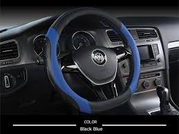 <b>KKYSYELVA D Shape</b> Steering Wheel Black <b>Auto Car</b> Steering ...