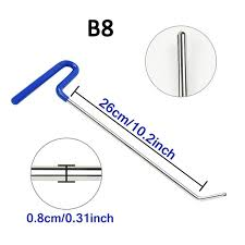 Online Shop <b>WHDZ</b> 3PCS <b>PDR Tool Kit</b> Stainless steel Perfect for ...