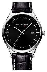 Наручные <b>часы Lars Larsen</b> 119SBLBL — купить по выгодной ...