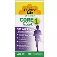 Country Life Women's <b>Multivitamin Core Daily</b>-<b>1</b>