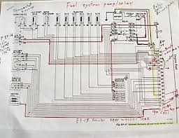 ecu diagnostics 1976 datsun 280z nissan 1978 Datsun 280z Wiring Diagram the 280z's fuel injection wiring schematic is very simple this example includes my hand 1978 datsun 280z wiring harness diagram